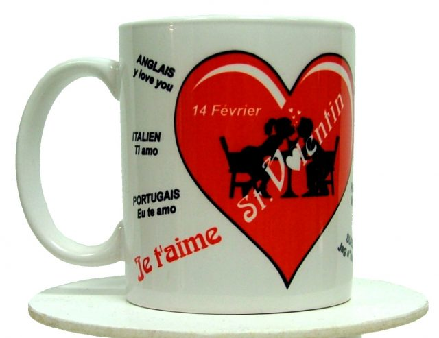 Mug St-Valentin