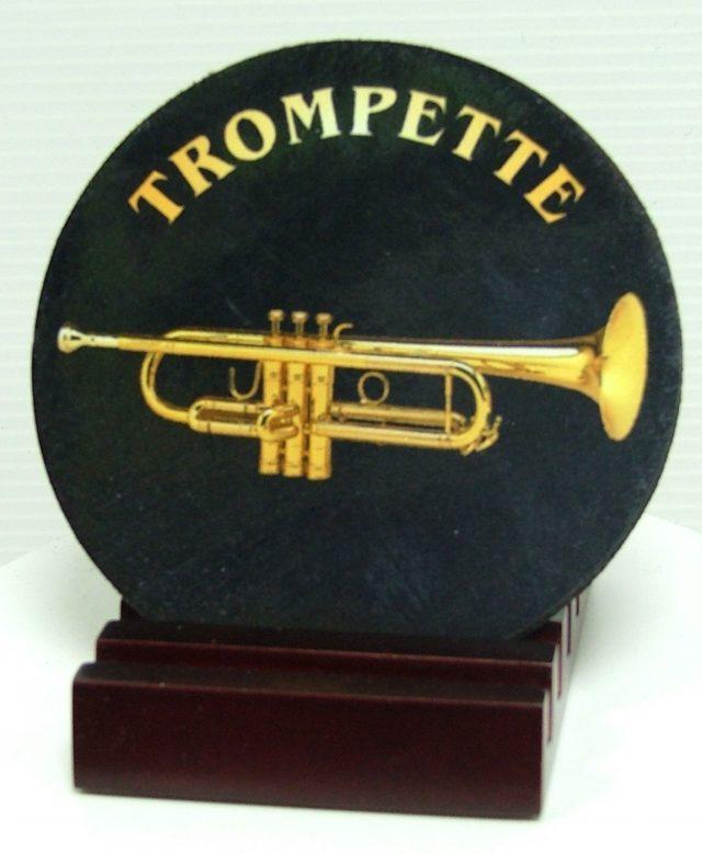 Sous verre souple trompette