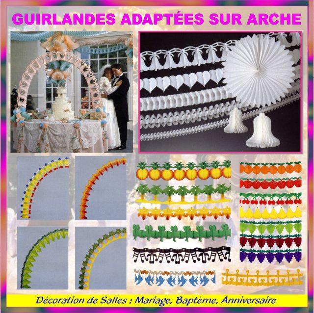 Photo Mariage et Guirlandes pour Arche