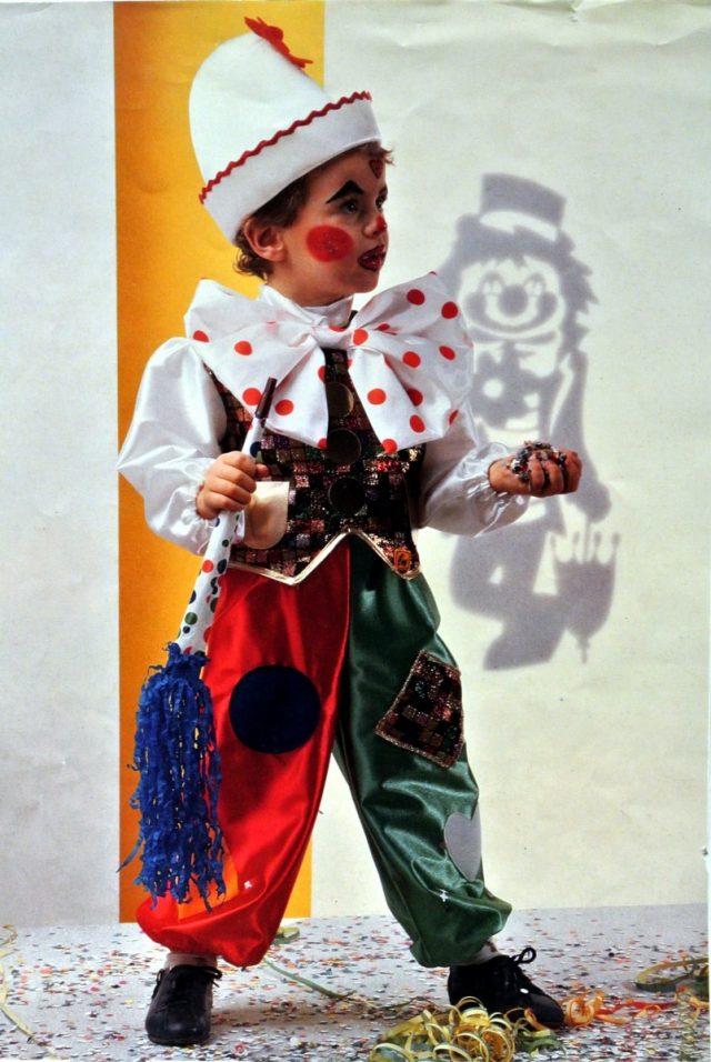 Clown luxe 8 ans