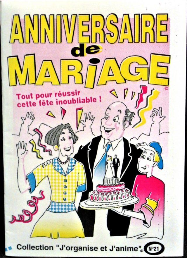 Livret Anniversaire de Mariage