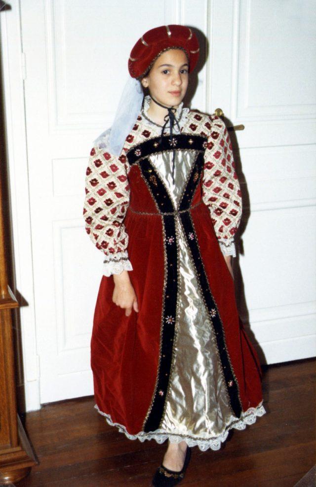 Marie-Thérèse d'Autriche 8-10 ans