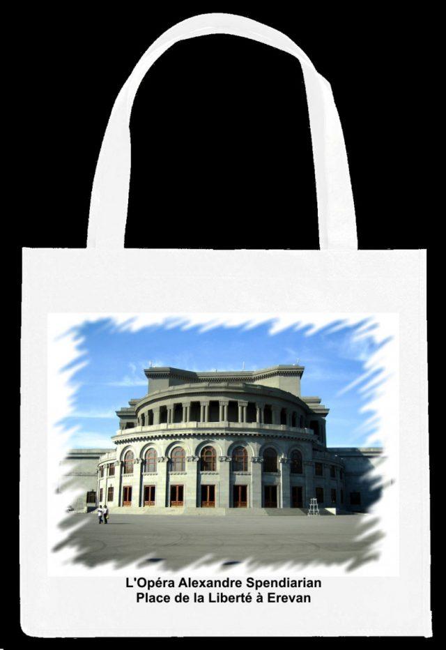 Sac Opéra Alexandre Spendiarian Place de la Liberté à Erevan
