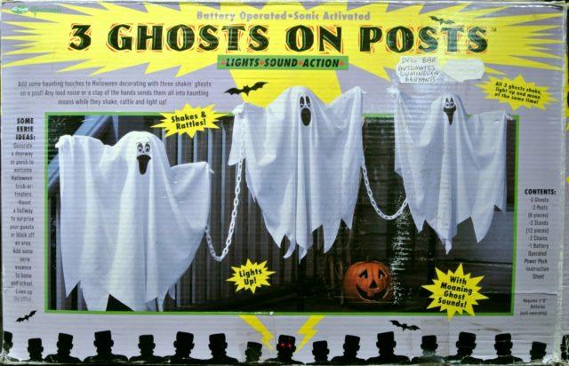 Halloween 3 fantômes Sonores et lumineux