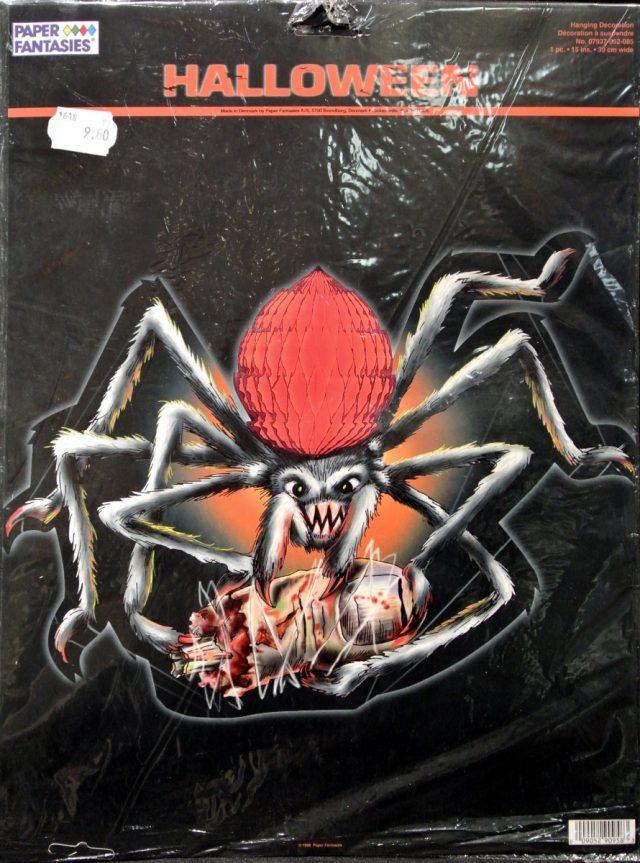 Halloween Alvéolé Araignée à pendre