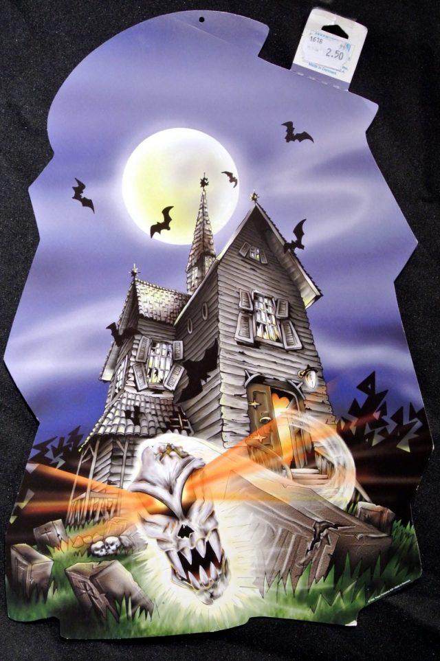 Halloween Cut-Out Maison Hantée