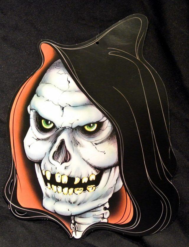 Halloween Cut-Out Tête de Mort capuche