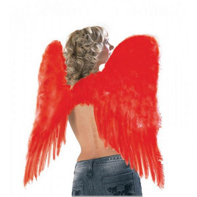 Ailes d'ange rouges
